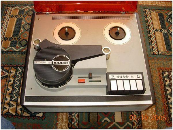 Ностальгия: видеомагнитофоны времен СССР