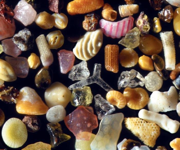 Обычный песок?