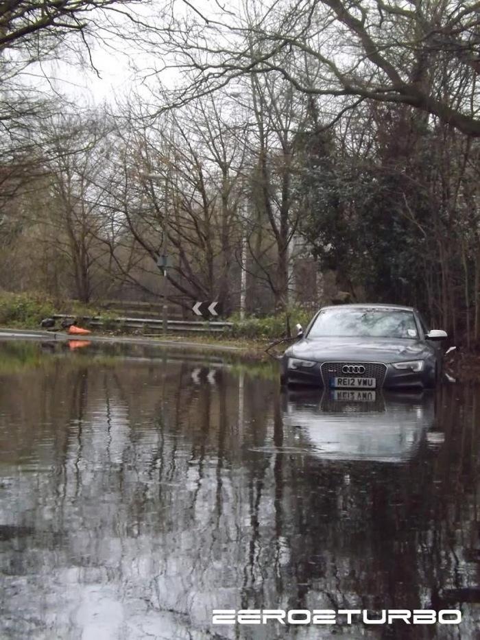 Брошенная Audi RS5