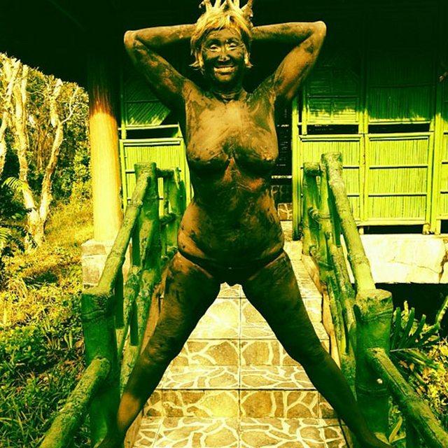 Жена Прохора Шаляпина голышом
