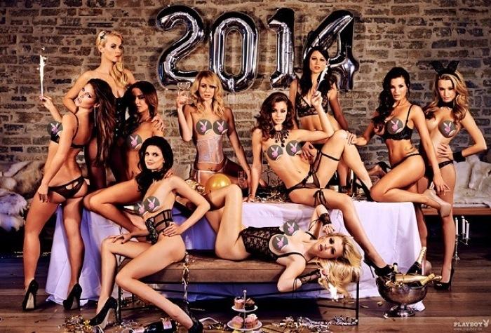 Календарь немецкого Playboy на 2014