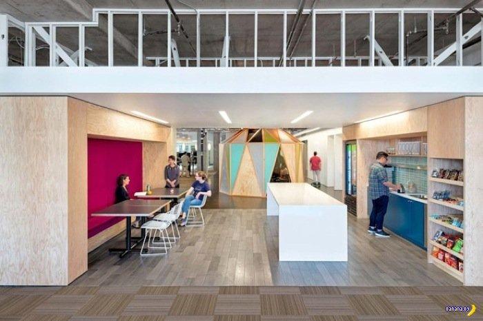 Офис Cisco-Miraki в Сан Франциско