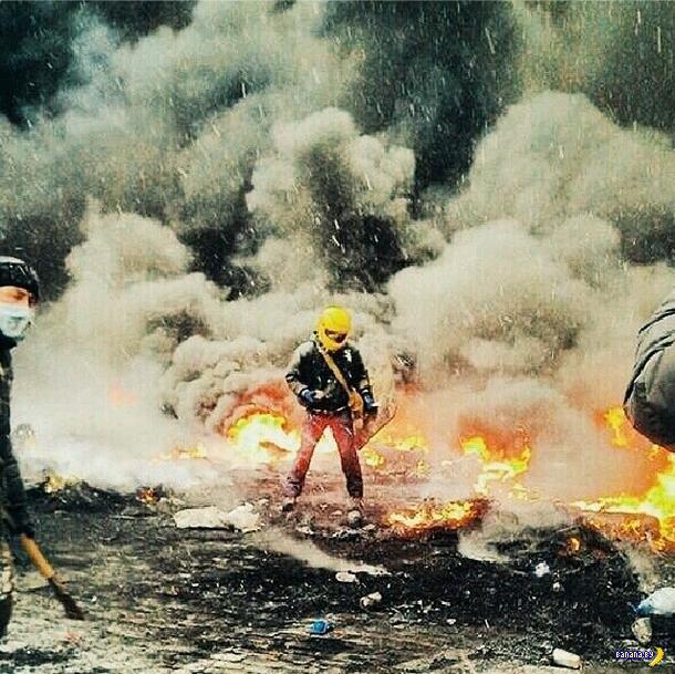 Лучшие фотографии с Евромайдана