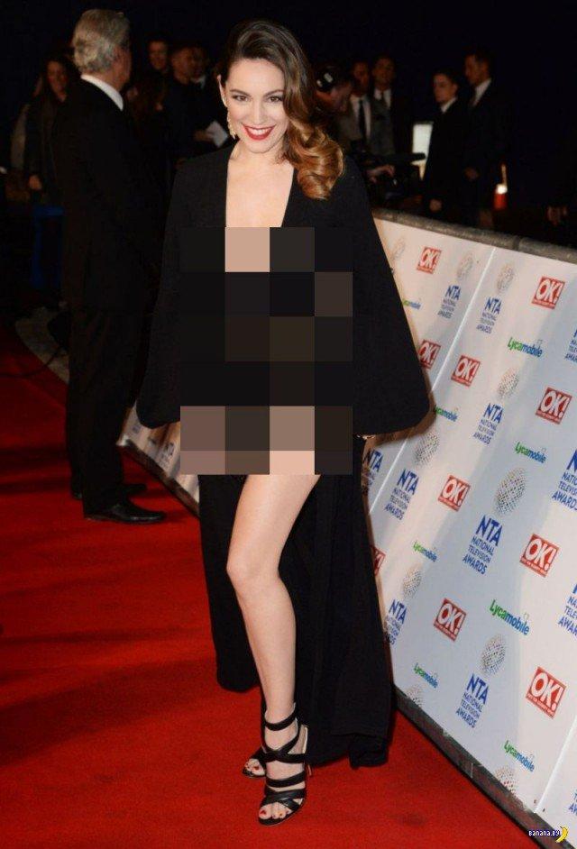 Келли Брук и её платье