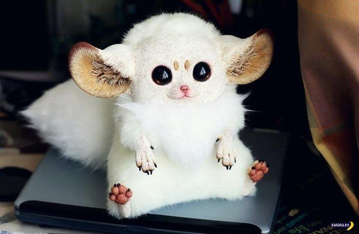 Гипер реалистичные куклы неведомых животных