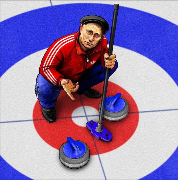 Надежда Хузина и её спортивный Путин
