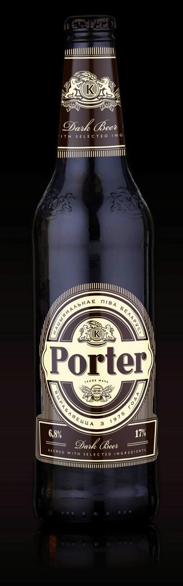 """""""Криница"""" с февраля начинает выпуск обновленного пива """"Porter"""""""