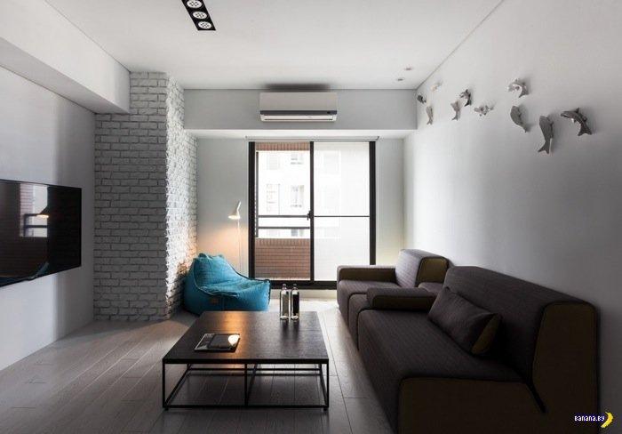 Небольшая квартира на Тайване