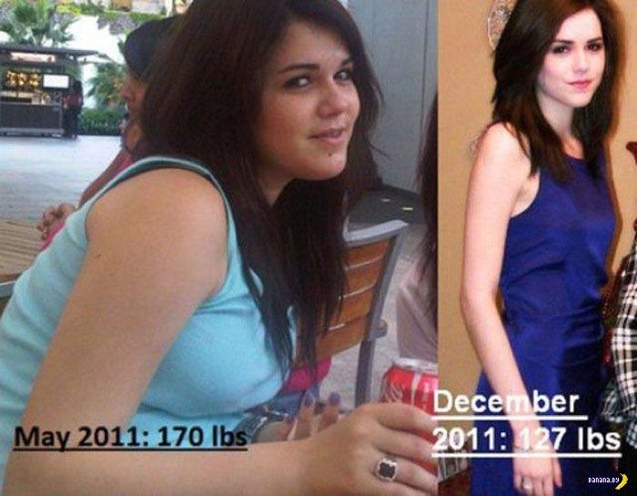 Из толстух в красотки