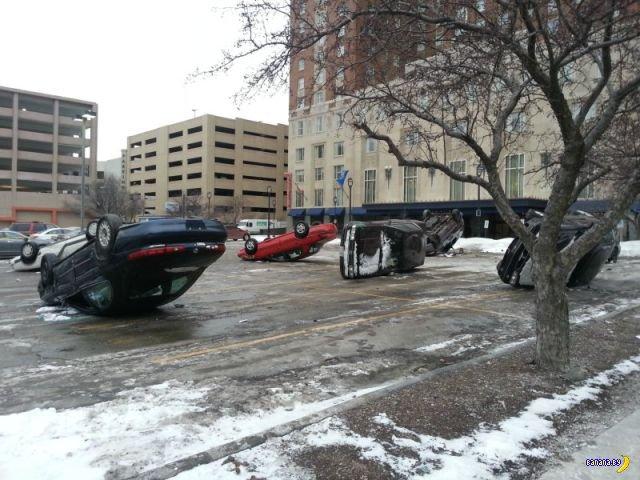 Загадка парковки в Нью Гэмпшире