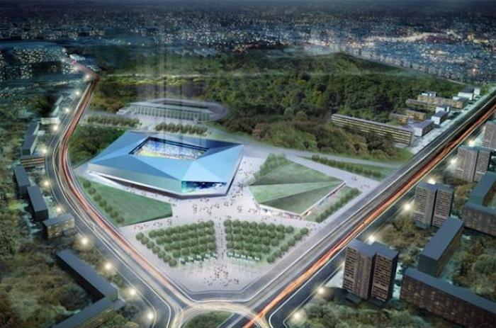 Очередной проект стадиона у площади Ванеева