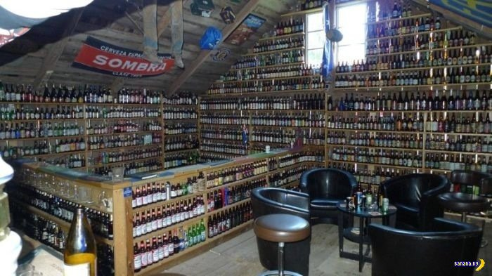 Пивные бутылки со всего мира