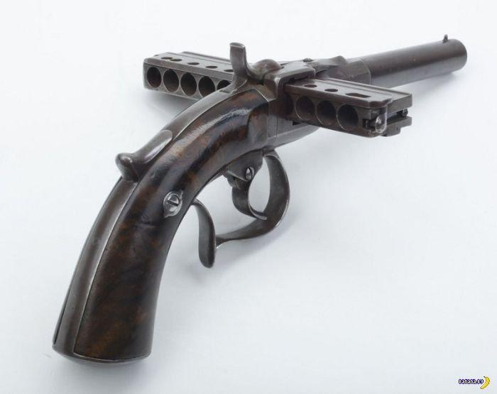 Пистолет-губная гармошка