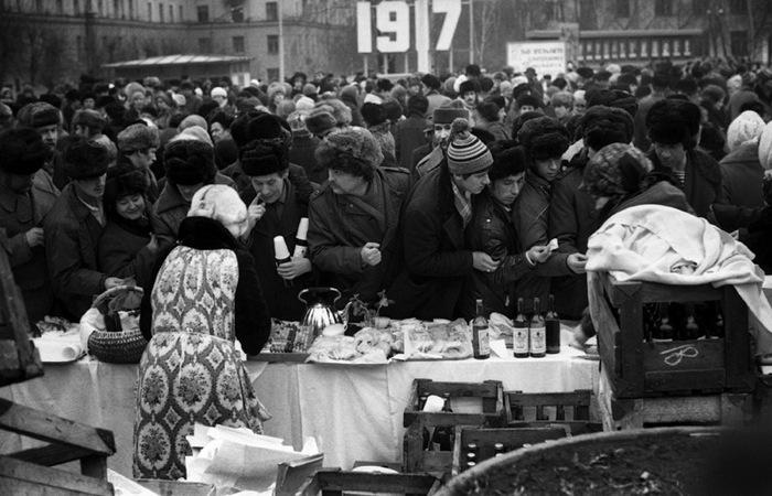 Потрясающие фотографии времен СССР