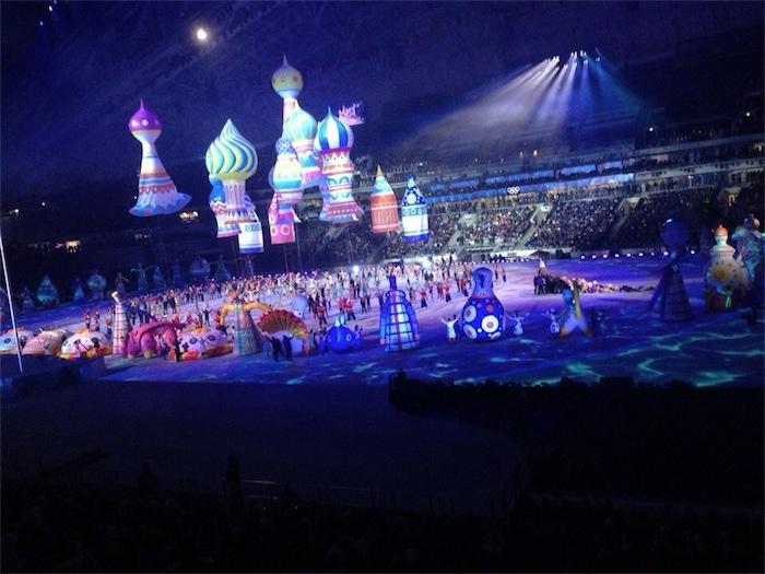 Прошло открытие Олимпиады в Сочи