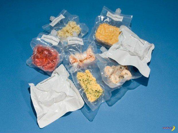 Чем питаются астронавты?