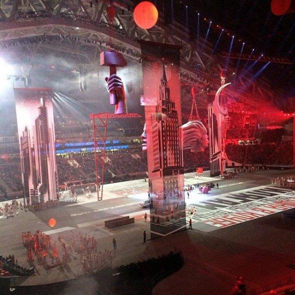 Зарубежные СМИ о церемонии открытия Игр