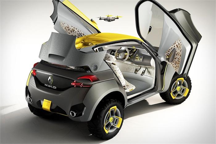 Странный Renault Kwid Concept