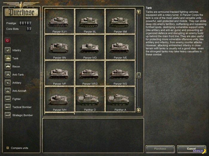 ����� ���� Panzer Corps ��� iPad