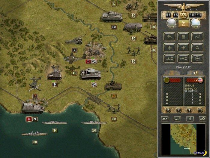 Обзор игры Panzer Corps для iPad