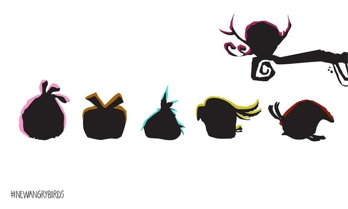 И еще новые Angry Birds?!