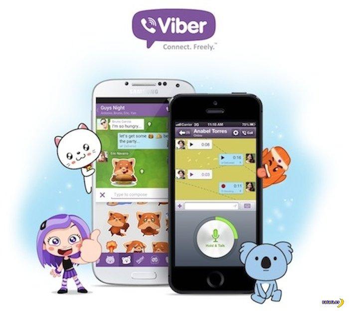 Японский концерн купил Viber