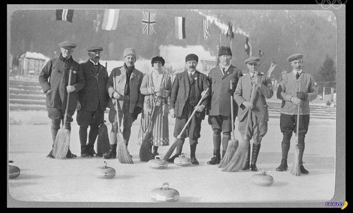 Фотографии с первой Зимней Олимпиады