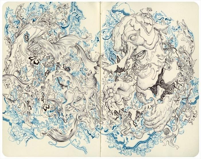 Рисует Джеймс Джин