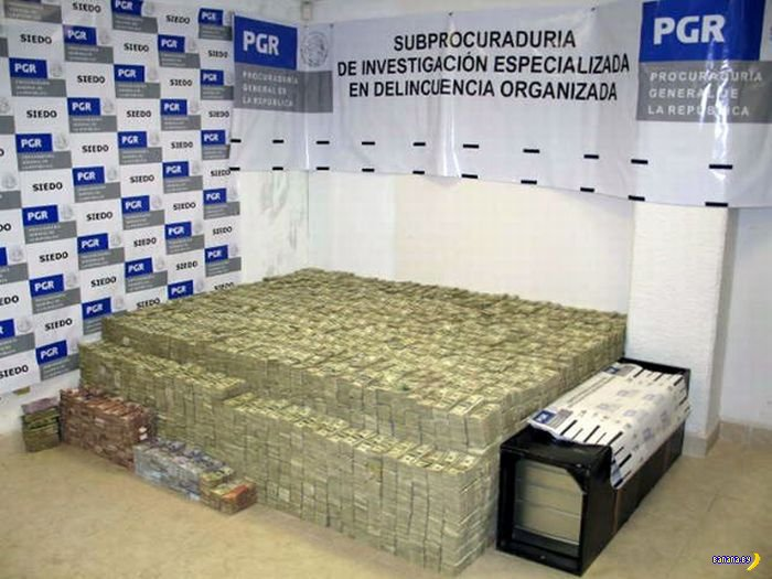 Дома у мексиканского наркобарона