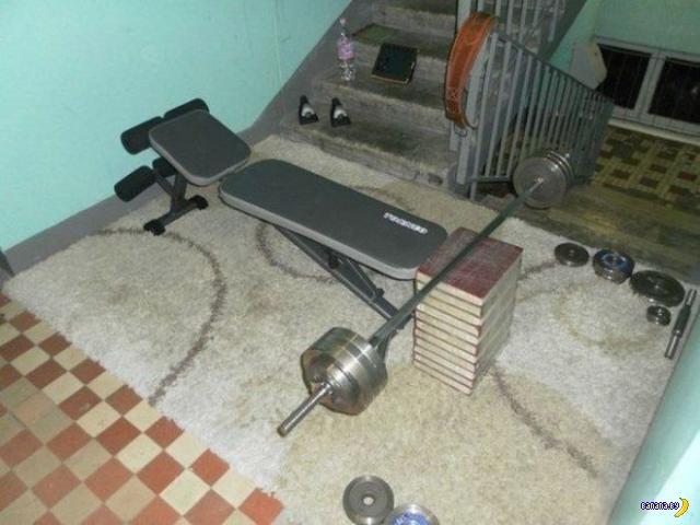 Качалка в на лестнице