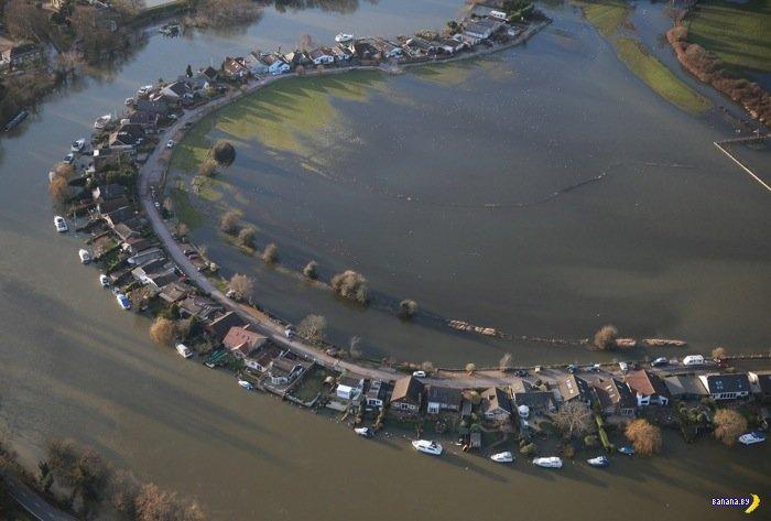 Британия уходит под воду