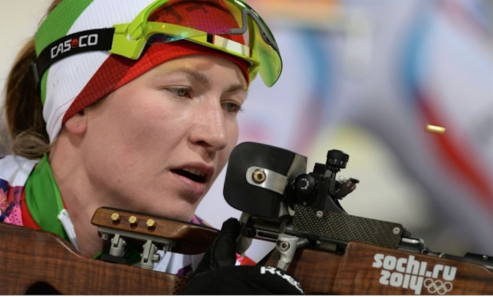 Дарья Домрачева: Считаю Россию родной страной