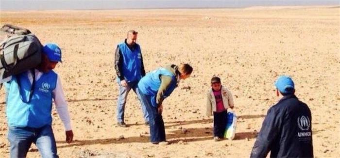 4-х летний сирийский мальчик в одиночку отправился на поиски родителей