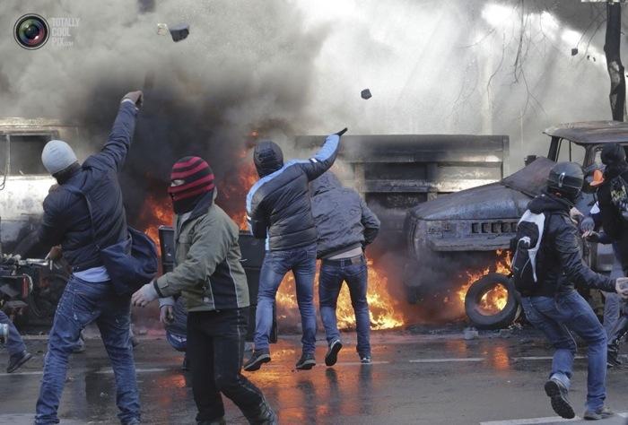Хроника пылающего Киева