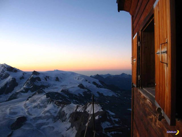 Избушка на горе Matterhorn
