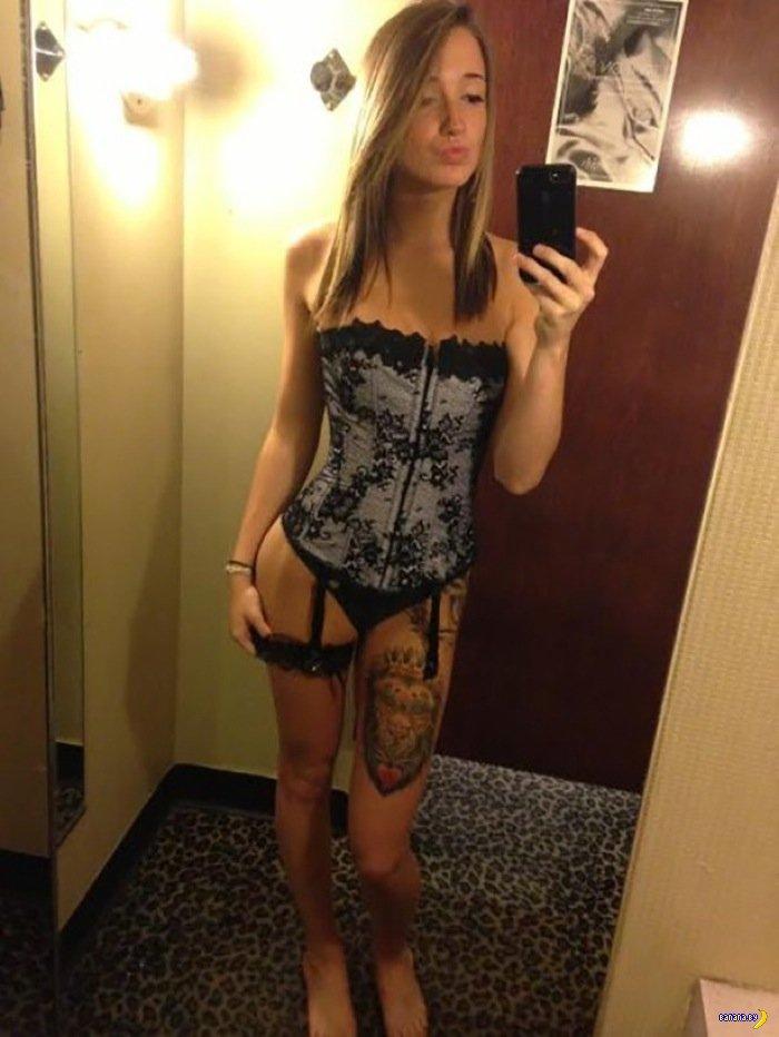 Красивые девушки в нижнем белье - 27