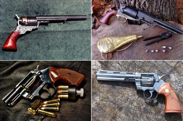 Легендарные револьверы марки Colt