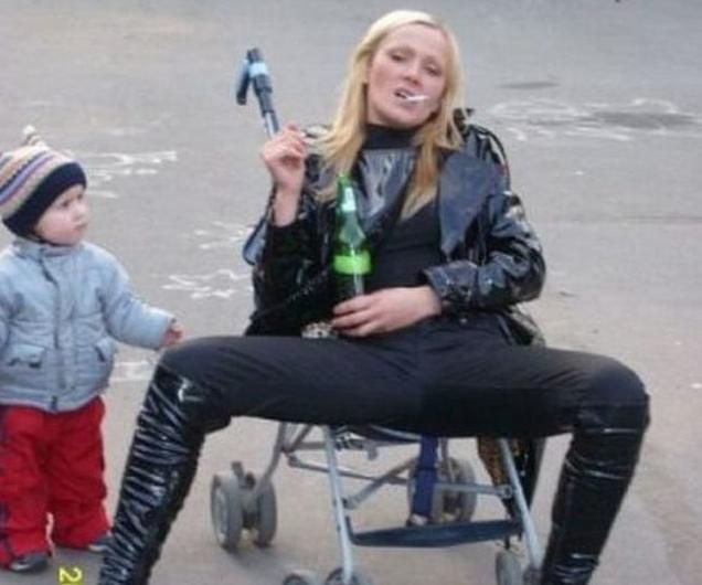 Уход за детьми по-русски