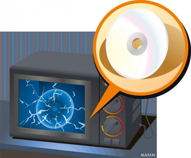 4 опасных фокуса с микроволновкой