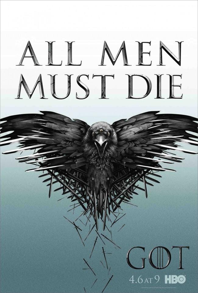 Первый официальный постер 4-го сезона сериала «Игра престолов»