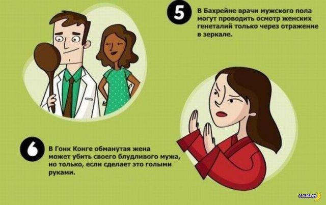 20 законов о сексе