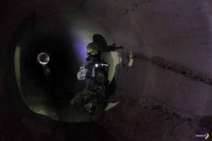 Секретный тоннель Эль Чапо