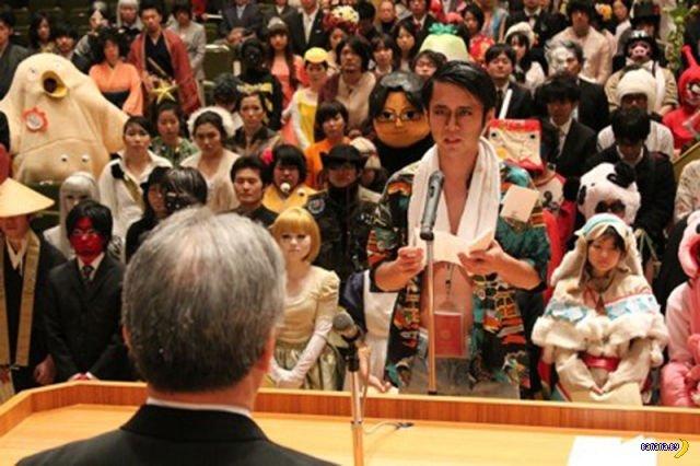Японские выпускные и мода