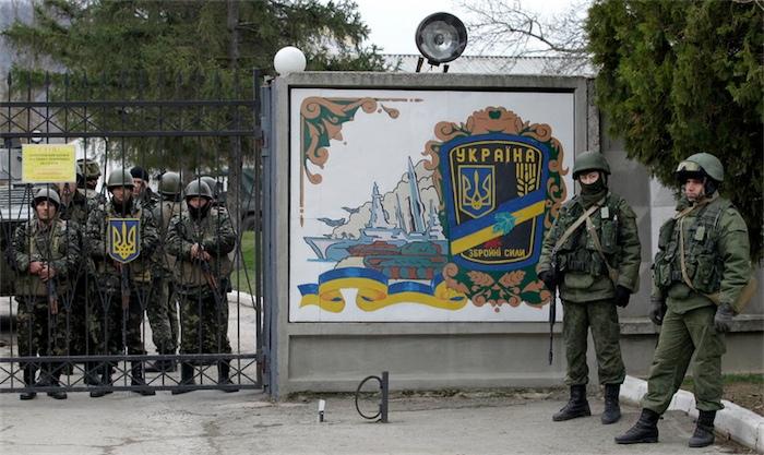 Украина не способна противостоять вооружённым силам России