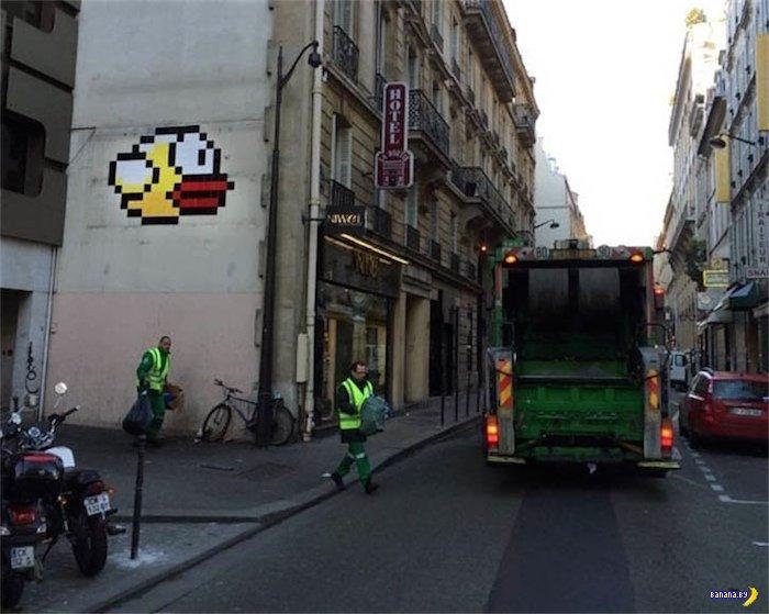 Проклятая Flappy Bird в Париже