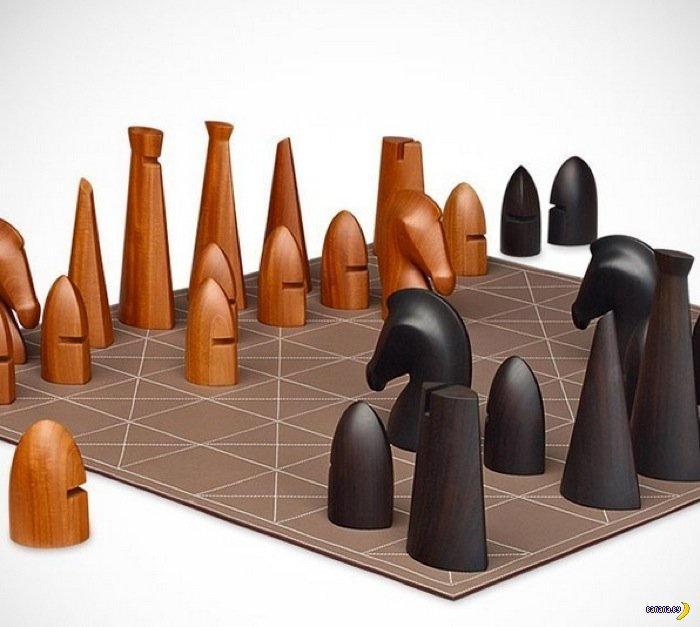 Вестник нищеброда.  Шахматы от Hermes