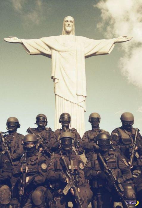 Будни бразильской полиции