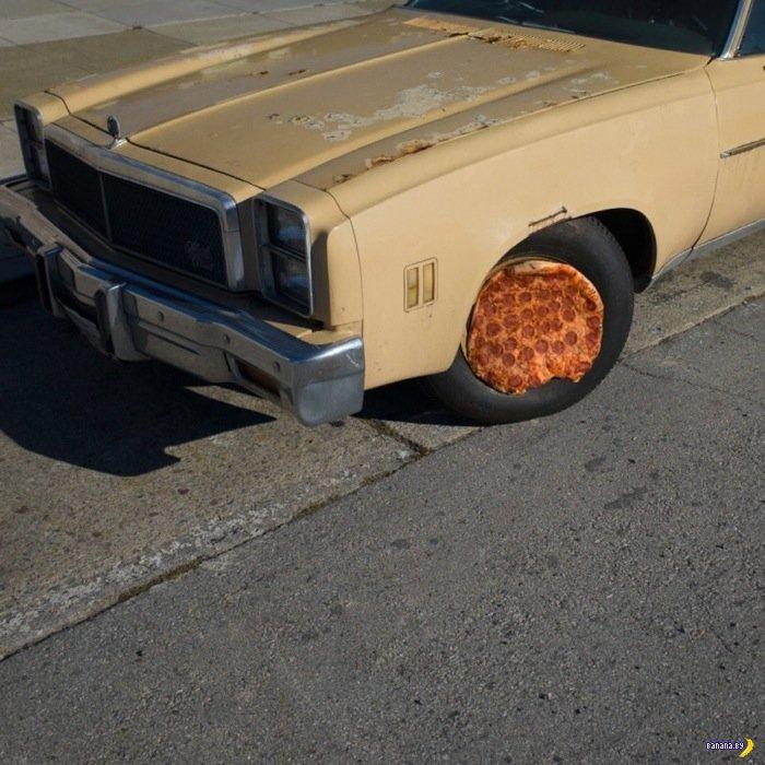 Пицца в диких условиях