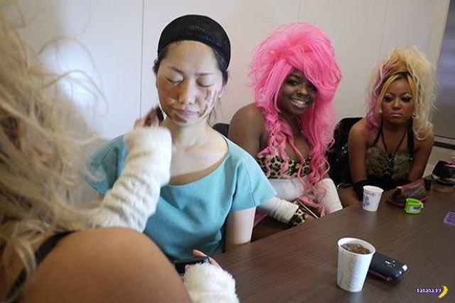 Урок модного японского макияжа