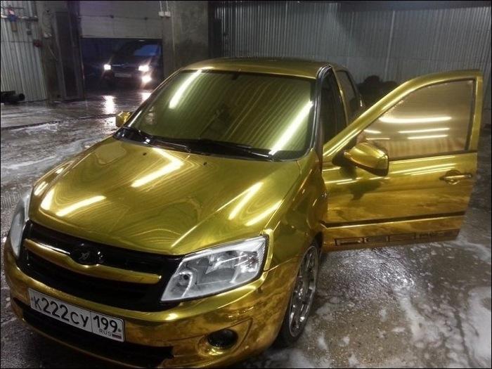 Золото, а не машина!